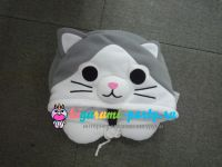 Кигуруми подушка для шеи котёнок Ти по манге Милый дом Ти