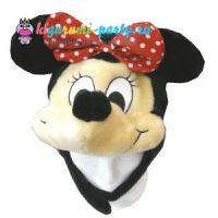 Кигуруми шапка Минни Маус / Kigurumi cap Minnie Mouse
