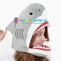 Кигуруми шапка Акула