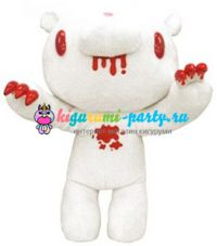 Кигуруми Нуигуруми Мрачный Медведь атакующий (плюшевая кукла L белая)