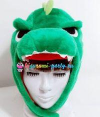 Кигуруми шапка Динозавр