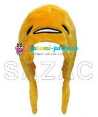 Кигуруми шапка ленивое яйцо GUDETAMA