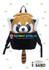 Кигуруми рюкзак красная (огненная) Панда