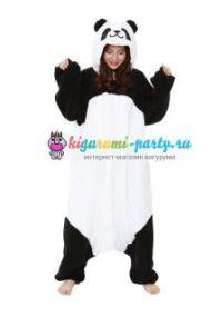 Кигуруми пушистая Панда