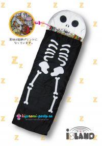 Кигуруми спальный мешок Скелет