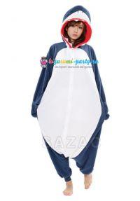 Кигуруми Акула тёмно-синяя