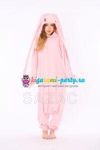 Кигуруми Кролик Ханьо розовый / Kigurumi Hanyo-Usagi pink