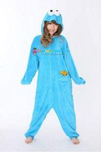 Кигуруми Коржик (Куки монстр, печеньковый монстр) по Улица Сезам / англ. Cookie Monster on Sesame Street