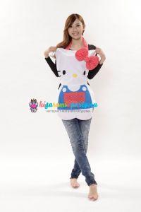 Кигуруми фартук Хелло Китти / Kigurumi apron Hello Kitty