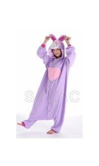 Кигуруми Хелло Китти Кролик фиолетовый