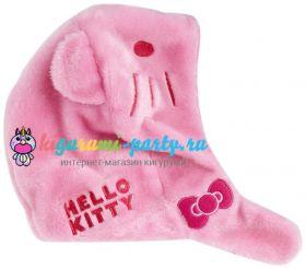 Кигуруми шапка Хелло Китти розовая / Kigurumi cap Hello Kitty pink (профиль)
