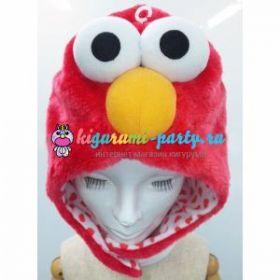 Кигуруми шапка Элмо по Улица Сезам / Kigurumi cap Elmo on Sesame Street