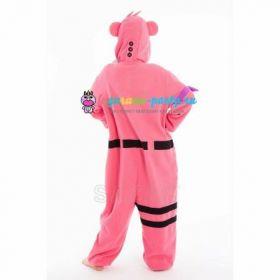Кигуруми заботливый Мишка розовый Fortnite! / Kigurumi care Bear pink Fortnite! (сзади)