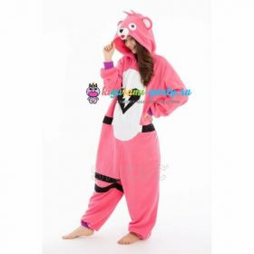 Кигуруми заботливый Мишка розовый Fortnite! / Kigurumi care Bear pink Fortnite! (профиль)