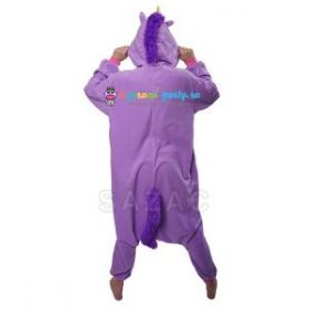 Кигуруми Единорог фиолетовый (сзади)
