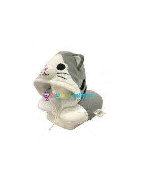 Кигуруми подушка для шеи котёнок Ти по манге Милый дом Ти на манекене
