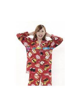 Кигуруми пижама Хелло Китти суши (большое лицо)