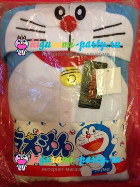 Кигуруми Дораэмон по манге Дораэмон / англ. Kigurumi Doraemon based on the manga Doraemon (в упаковке)