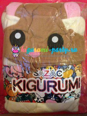 Кигуруми Белка-Летяга / Kigurumi Flying Squirrel (в упаковке)