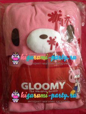 Кигуруми Мрачный Медведь розовый / Kigurumi Gloomy Bear pink (в упаковке)