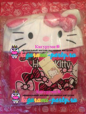 Кигуруми Хелло Китти Зебра розовая / Kigurumi Hello Kitty zebra pink (в упаковке)