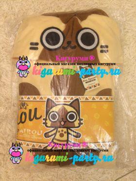 Кигуруми Фелин из Охотников на монстров / Kigurumi Felyne from Monster Hunter (в упаковке)