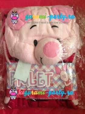 Кигуруми Пятачок из м/ф Винни Пух / англ. Kigurumi Piglet from m/f Winnie the Pooh (в упаковке)