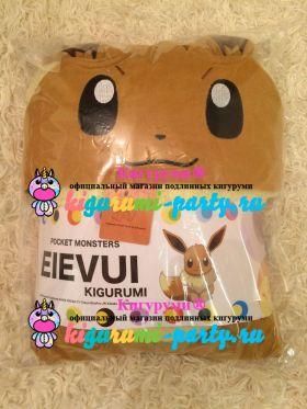 Кигуруми Покемон Иви / Kigurumi Pokemon Eevee (в упаковке)