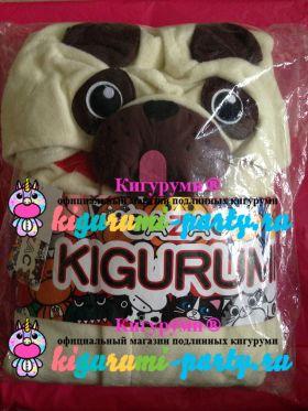 Кигуруми Мопс / Kigurumi Pug (в упаковке)