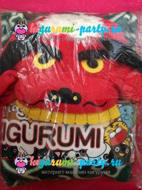 Кигуруми японский Дракон Шишимай / англ. Kigurumi japanese Dragon Shishimai (в упаковке)
