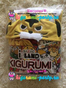 Кигуруми Тигр жёлтый (в упаковке)