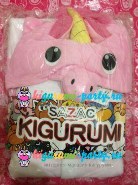 Кигуруми Единорог розовый (в упаковке)
