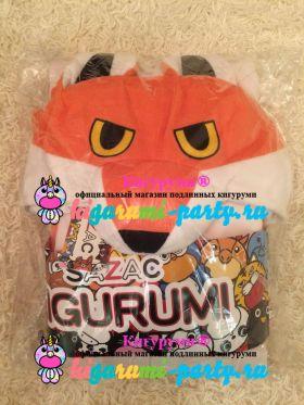Кигуруми красная Лиса / Kigurumi red Fox (в упаковке)
