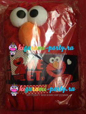 Кигуруми Элмо по Улица Сезам / Kigurumi Elmo on Sesame Street (в упаковке)