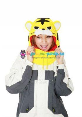 Кигуруми капор Тигр жёлтый (анфас)