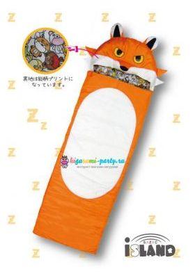 Кигуруми спальный мешок красная Лиса