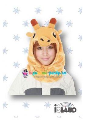Кигуруми капор Жираф