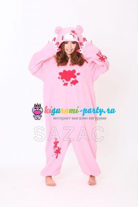 Кигуруми Gloomy Bear розовый