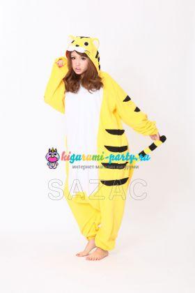 Кигуруми Тигр жёлтый