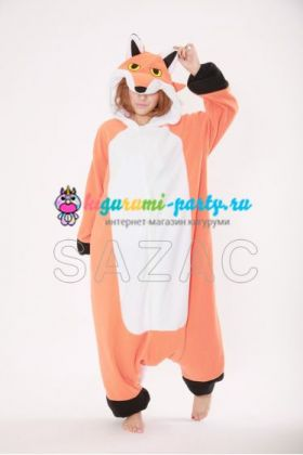 Кигуруми красная Лиса / Kigurumi red Fox