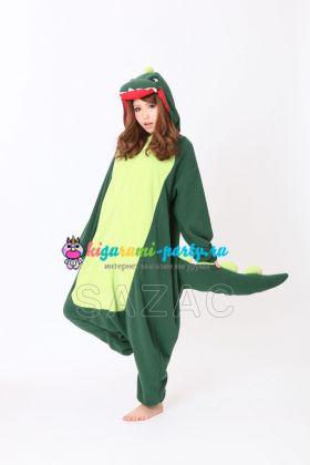 Кигуруми Динозавр зелёный