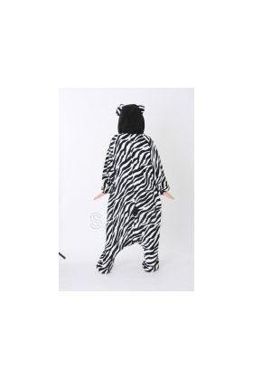 Кигуруми Хелло Китти Зебра чёрная / Kigurumi Hello Kitty zebra black (сзади)