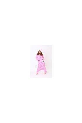 Кигуруми Хелло Китти Зебра розовая / Kigurumi Hello Kitty zebra pink