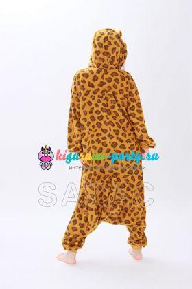 Кигуруми Леопард / Kigurumi Leopard (сзади)