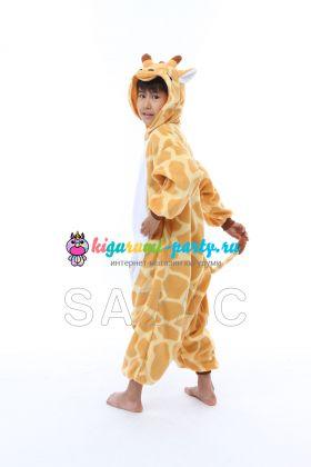 Кигуруми для детей Жирафик (вполоборота)