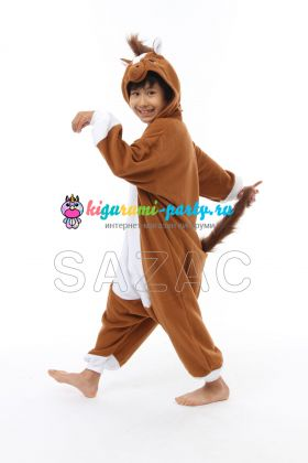 Кигуруми детский Лошадка (вполоборота)