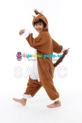 Кигуруми для детей Лошадка (вполоборота)