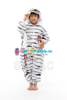 Кигуруми для детей Мумия (анфас)
