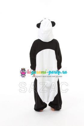 Кигуруми детский Панда (сзади)