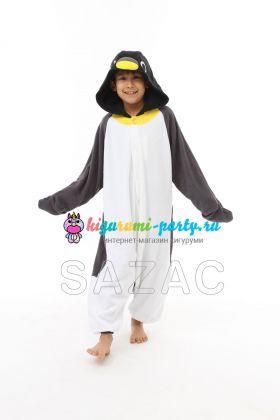 Кигуруми для детей Пингвинчик (вполоборота)